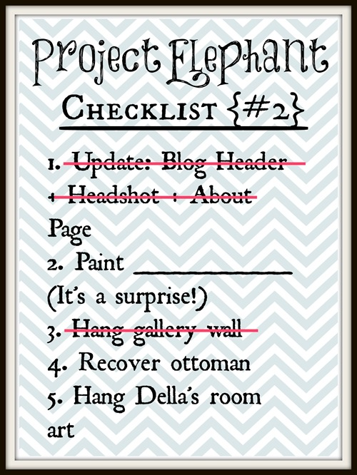 project elephant checklist2