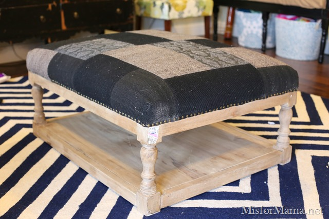 project elephant 6 how to re cover an ottoman the easy