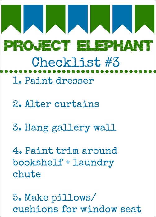 project elephant checklist #3