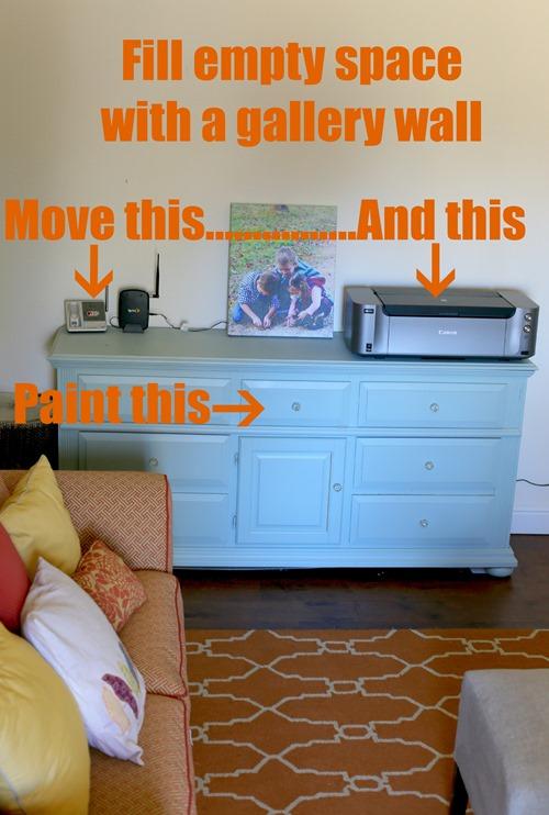 sitting room dresser