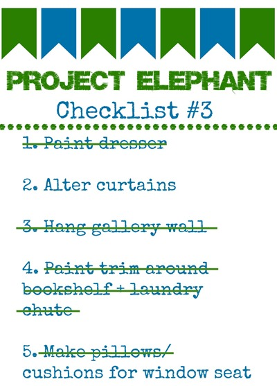 project elephant checklist #3 updated