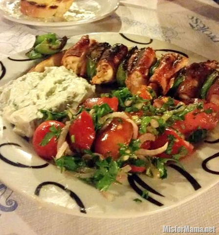 Mifm s weekend of european food greek m is for mama for Apollon greek and european cuisine