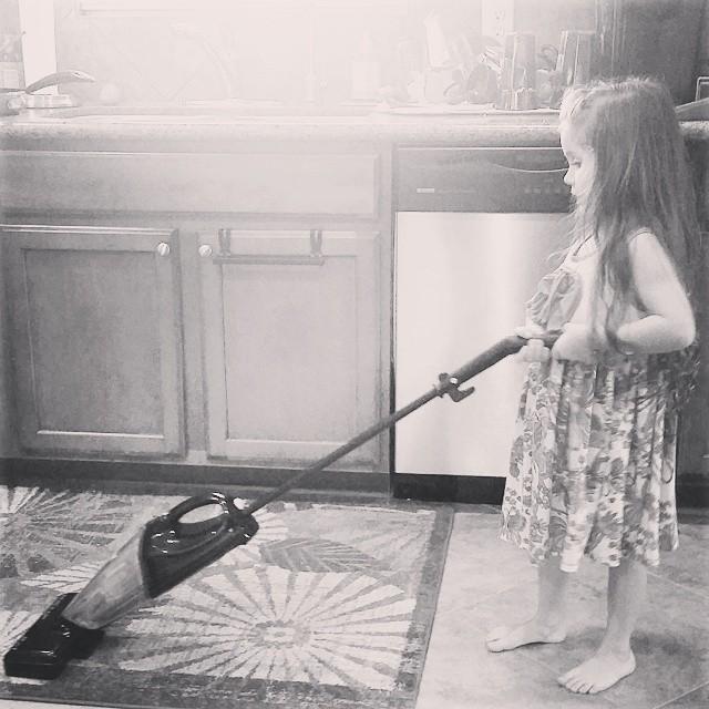 della vacuuming