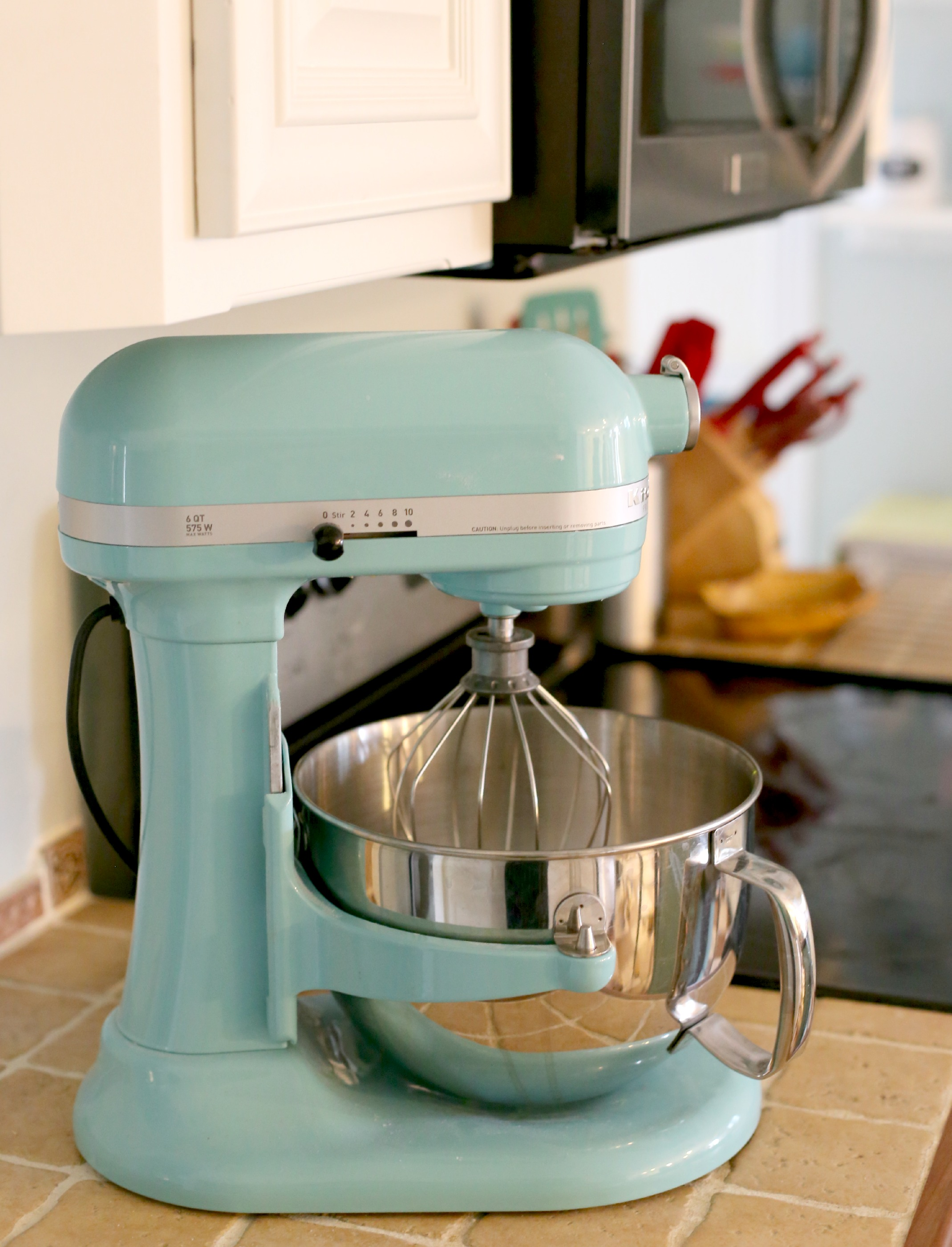 Meet Audrey The Aqua Kitchenaid Mixer M Is For Mama