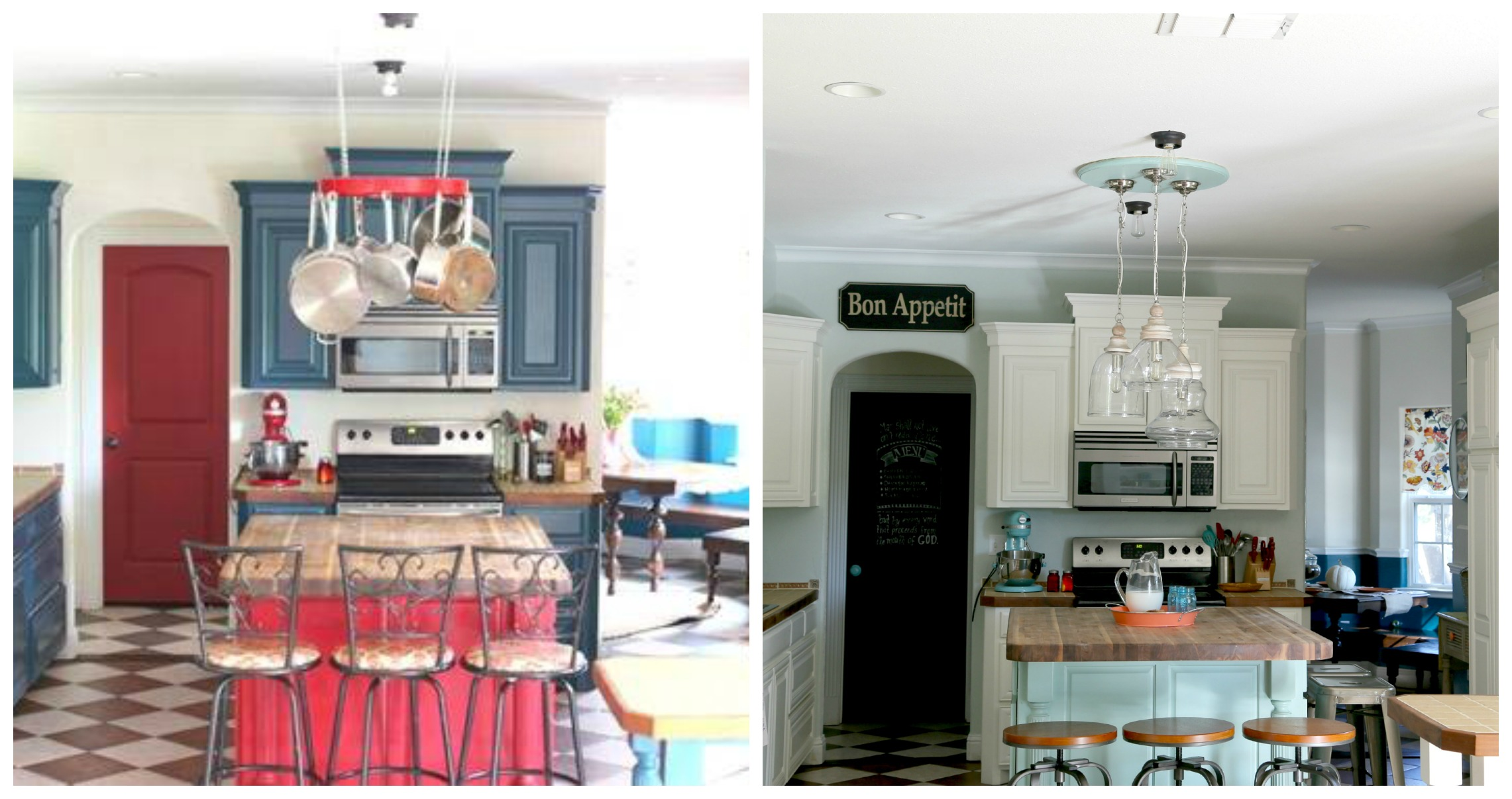 kitchen update collage1