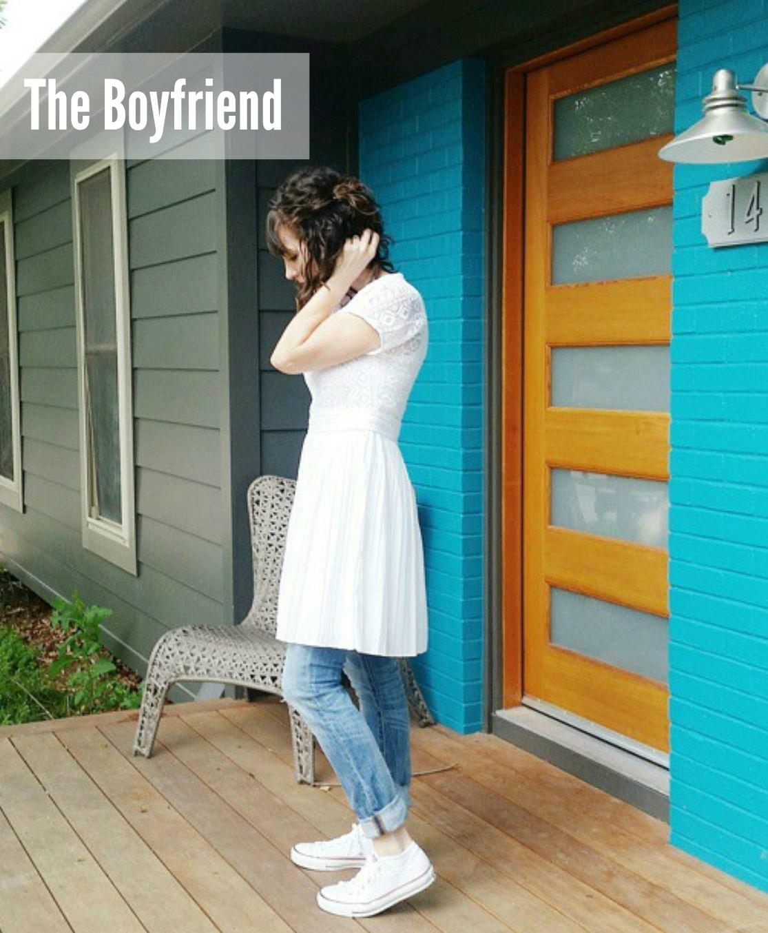white dress watermark