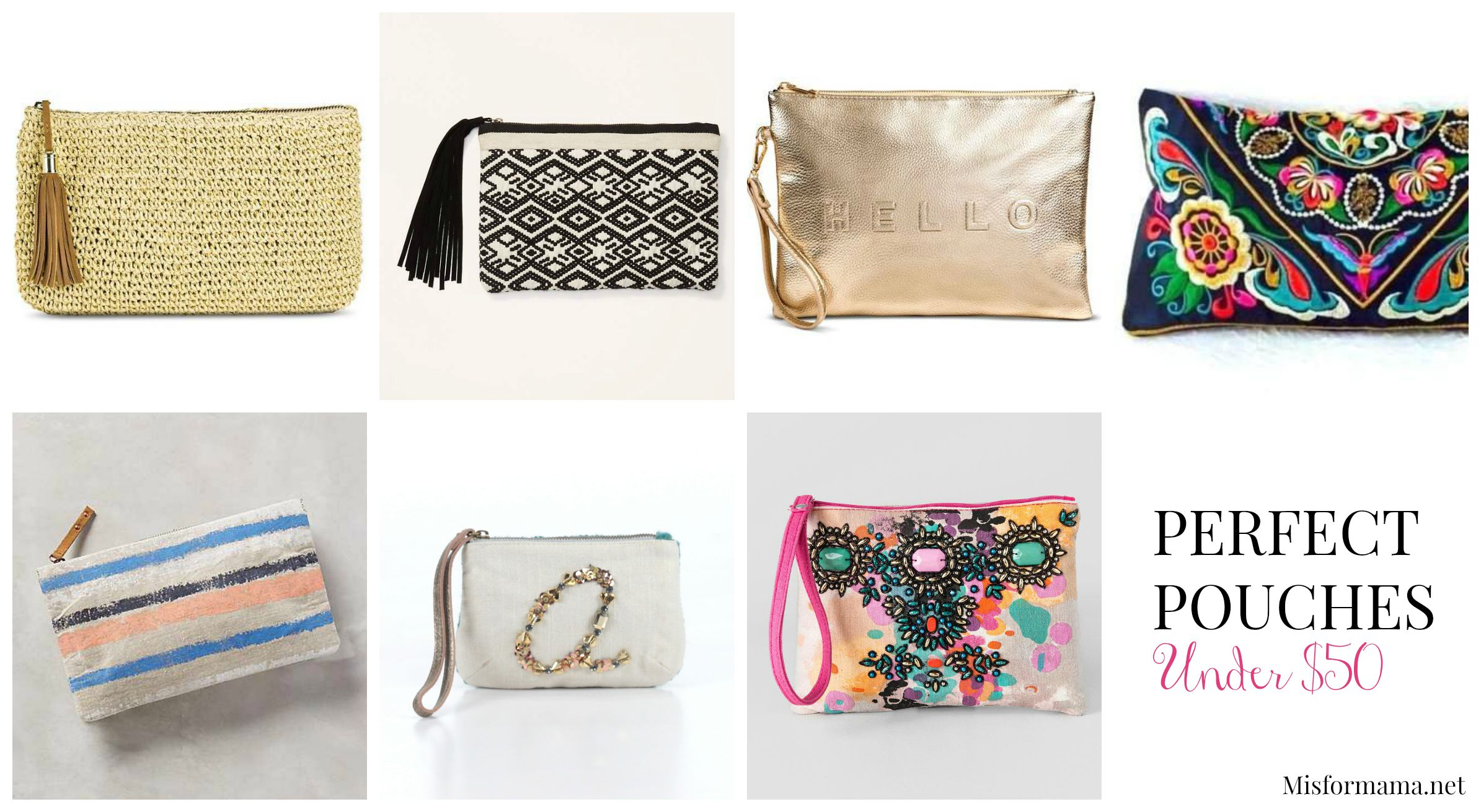 pouch collage