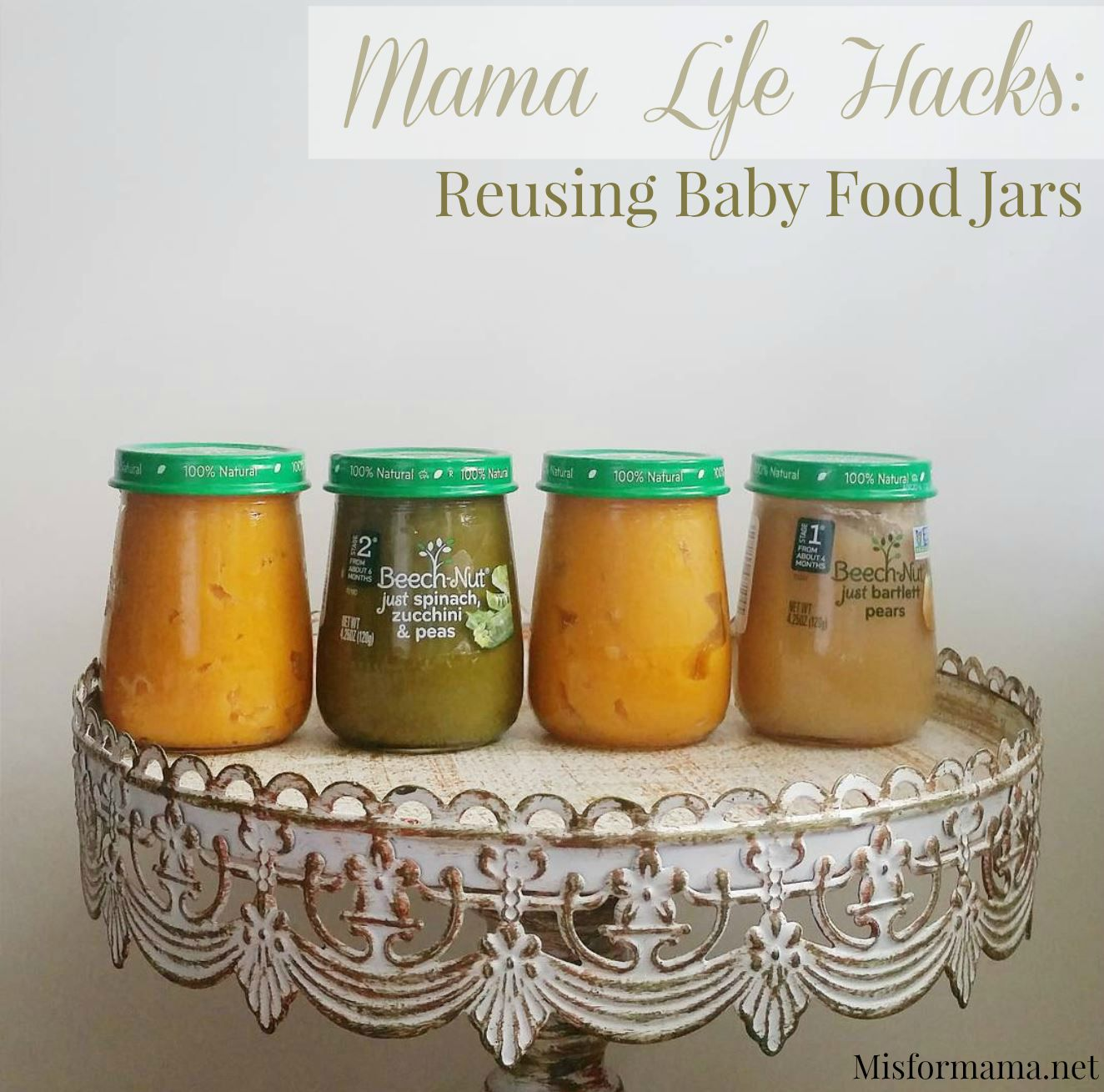baby food jars watermark