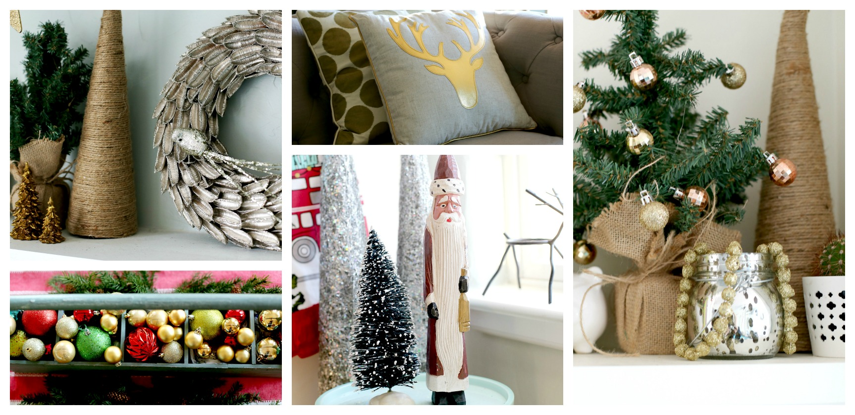 christmas details collage