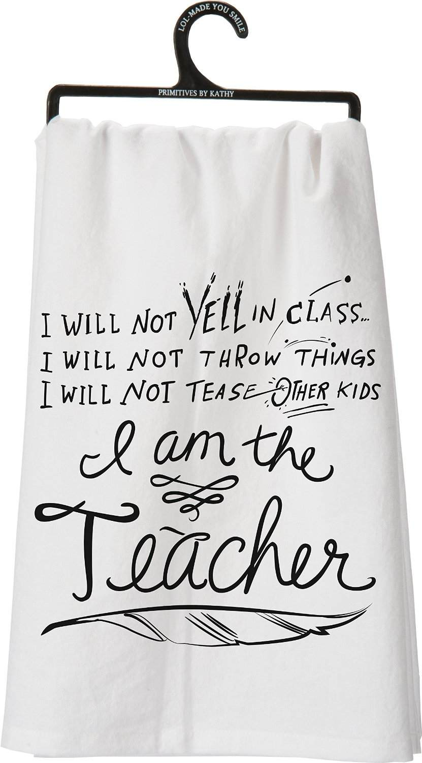 tea towel teacher