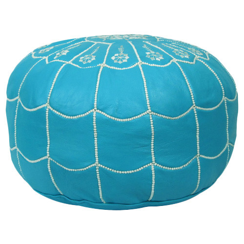 leather pouf1