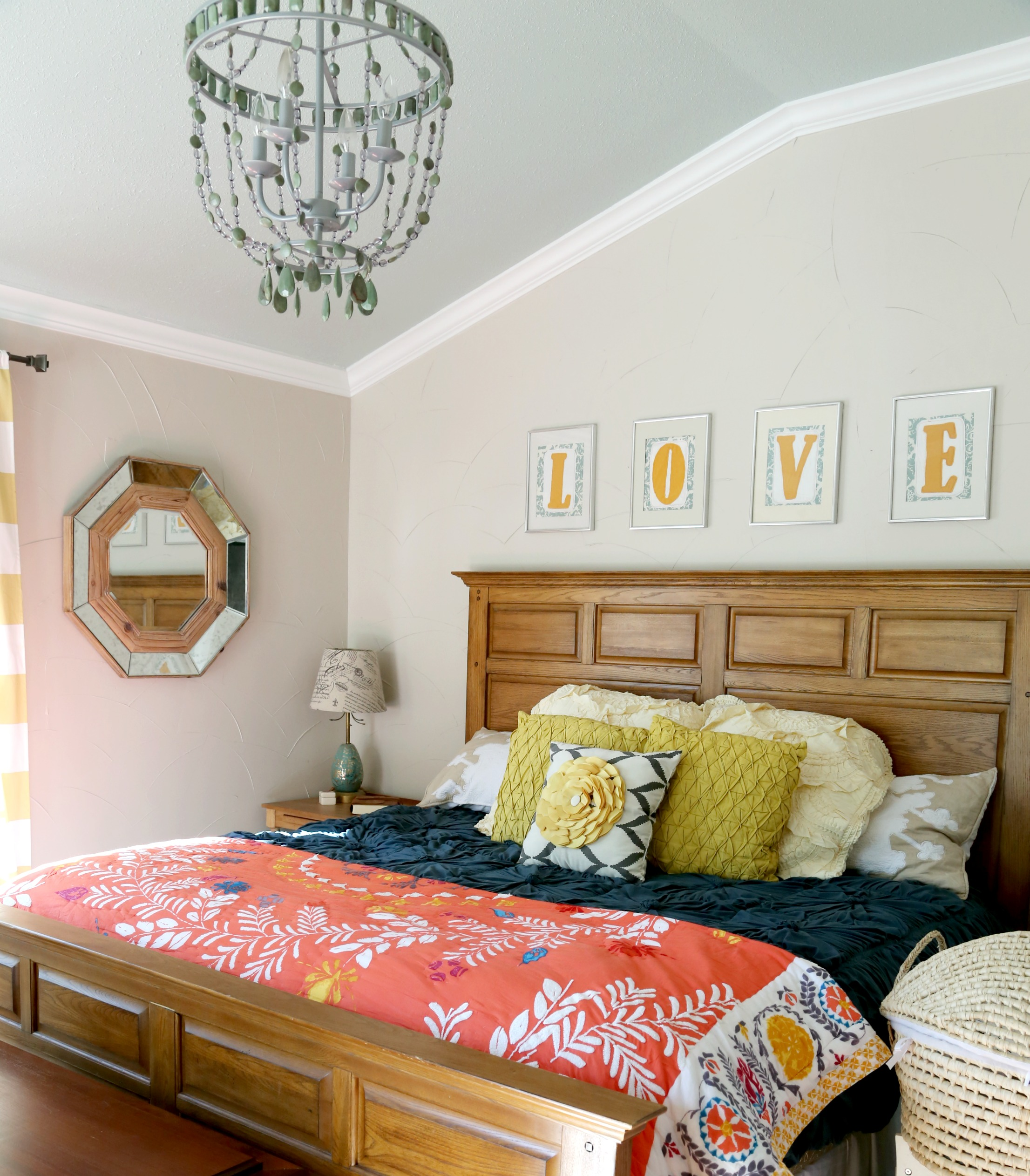 Master Bedroom Updates master bedroom + master bathroom reveal + a life update | m is for