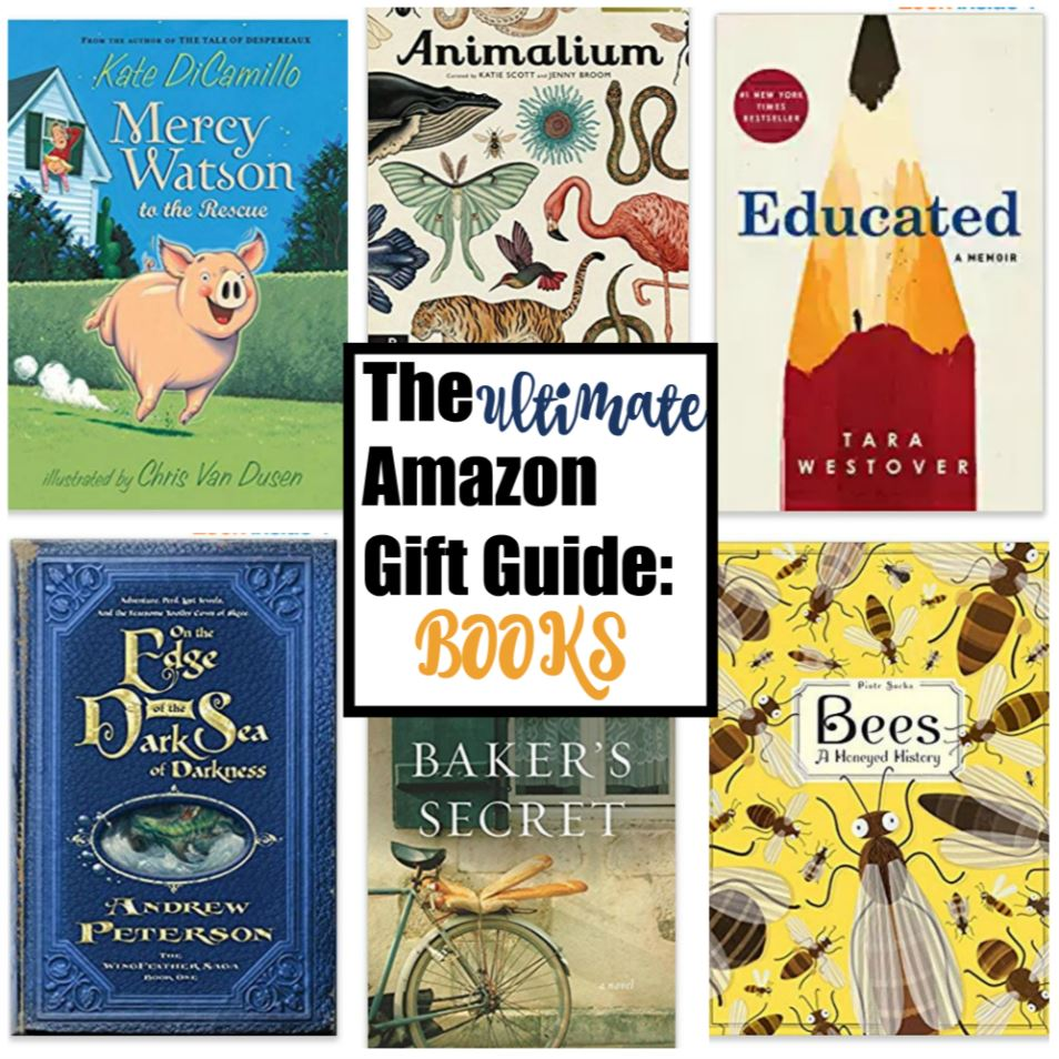 amazon gift guide for books